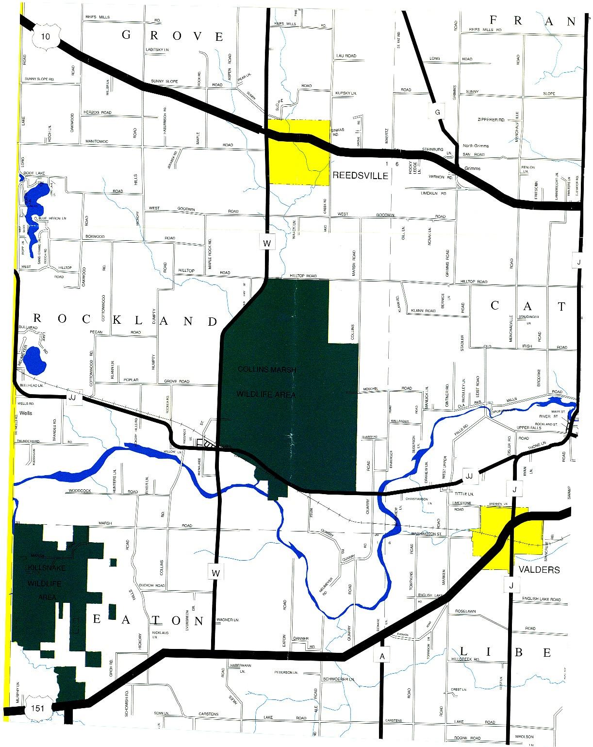 fire distrcit borderlines map